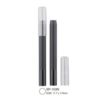 Cap-off Cosmetic Pencil with Aluminium End Cap