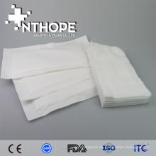 100% Baumwolle Gaze Tupfer Wundverband und stoppen Blutungen, medizinische Anbieter