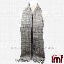 Мода Tartan 100% Монголия овец Толстая шерсть шарф Оптовая торговля