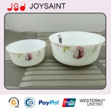 Tazón de fuente promocional de la ensalada de los cristales del nuevo diseño