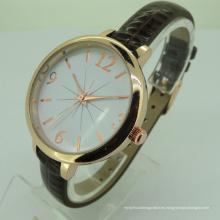 Reloj de pulsera de lujo de tipo y aleación de cuarzo con impermeable