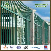 Уличный декоративный стальной забор