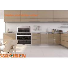 Mueble de cocina, armario de cocina, armario de cocina de acero inoxidable