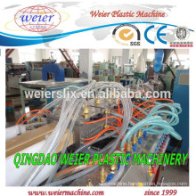 Wood plastic composite WPC profiles extrusion system machine