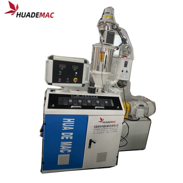PP Single wall plastic corrugated pipe extrusion line