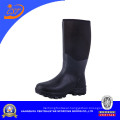 Rubber Sole Men Rubber Boots with Neoprene