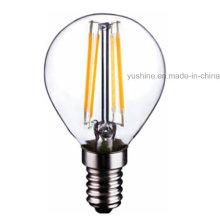 4W LED Light G45 Filament Bulb with CE