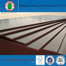 De boa qualidade A madeira compensada da melamina WBP colou a madeira compensada