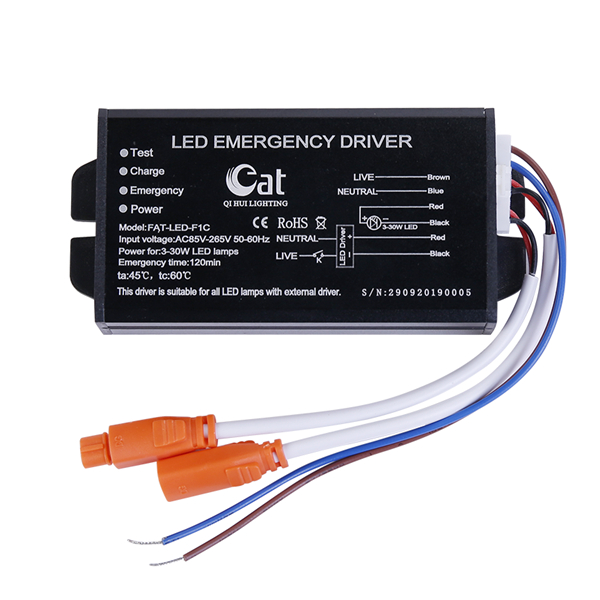 led troffer emergency driver