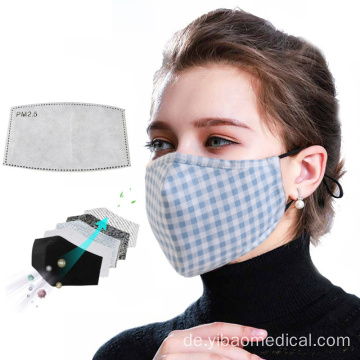 Adult Unisex Anti Dust Pollution Gesichtsmasken wiederverwendbar