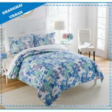 Edredón de la cubierta de la cama del lecho del hogar de la impresión del poliéster