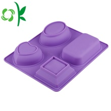 4Hole Silicone Soap Making Tools Different Soap Mold