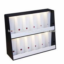 Counter Top 2 Layer 12 Duft Flaschen Stand Beleuchtet High End Acryl Parfüm Display Regale