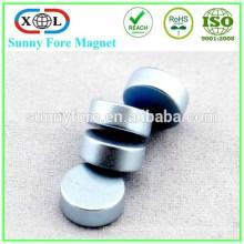 N35 customized shape strong zinc coating magnet