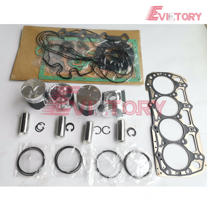 N844L piston + ring gasket