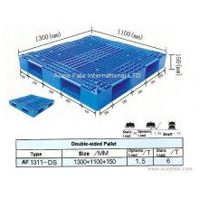 Palete de plástico logístico / paletes de aço / transporte