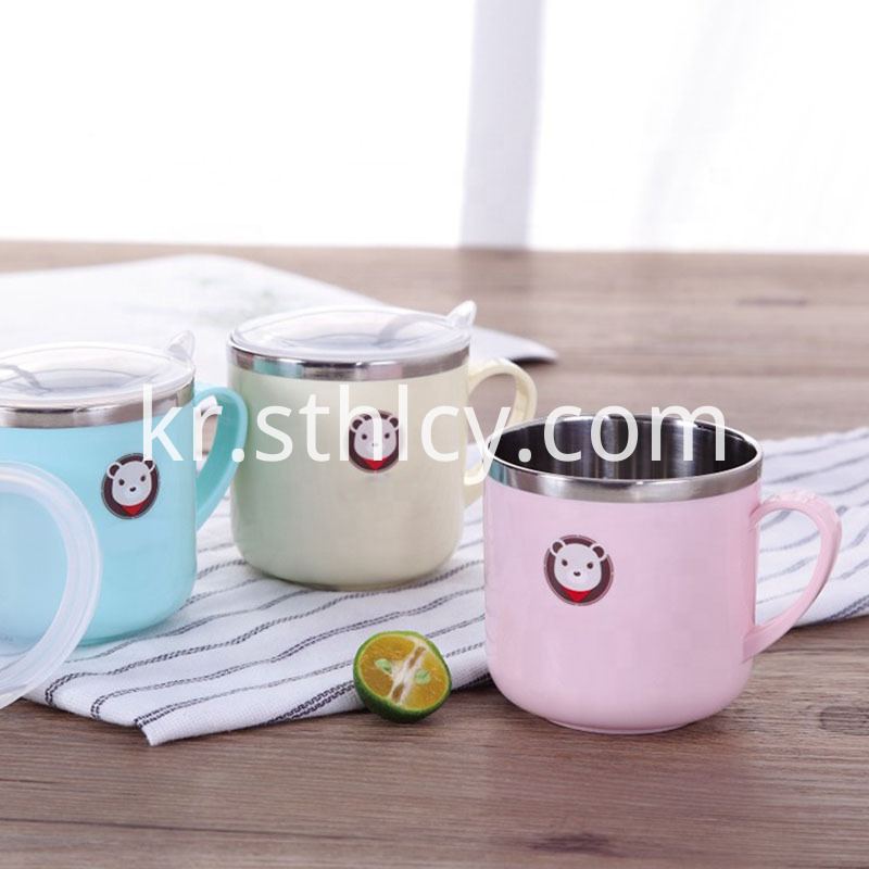 250ml Stainless Steel Feeding Insulation Baby Cup