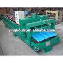 LS-1000-840 sheet metal flattening machine,flatten steel plate machine,flat sheet roll forming machine