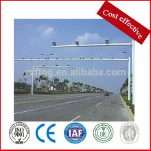 steel galvanized highway monitor pole,motorway traffic sign pole