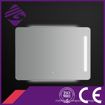 Jnh165 Touch Screen LED Backlit Chamfered Edge Economical Bathroom Mirror