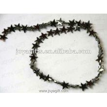 """8MM Loose Magnética Estrela Hematite Beads 16 """""""