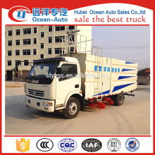 DFAC duolika 7.5cbm vacuum road sweeper truck for sale
