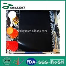 Tapete de cozinha de Teflon livre de PFOA (33x40cm, 0,18mm), esteira reutilizável e antiaderente para churrasco e forno