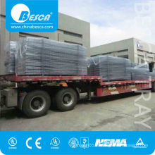 Light Duty Electro Galvanized Wire Mesh Cable Tray With Cover