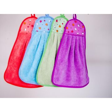 Gantung Microfiber Cleaning Cloth Kitchen Washing Towel