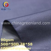 Twill Polyester Pongee Dyeing Fabric for Sportswear (GLLML330)