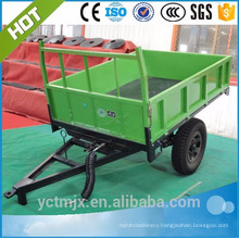tractor trailer with different capacity for sale,farm trailer,Mini Agricultural Tractor Trailer