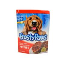 Bolsas para mascotas biodegradables con cremallera y muesca