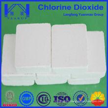 Produit chimique de piscine à dioxyde de chlore sans tcca