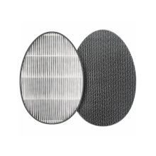 Portable AAFTWT130 Activated Carbon Corrugated Paper Filter pads and H13 HEPA replacment filter for LG Tower Air Purifier