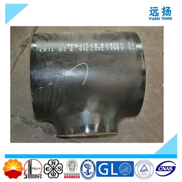 Hot Sale ASTM A234 Wpb Carbon Steel Welded Tee