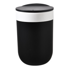 Plastic Garbage Container Bin with Press Top Lid