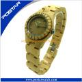Reloj de pulsera de madera 100% natural para hombre con resistencia al agua