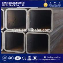 Tubo de aço da seção oca soldada Tubo de aço da seção RHS / SHS
