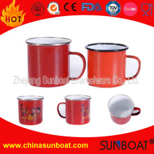 8cm/9cm/10cm Sunboat Enamel Mugs Kitchenware Tableware