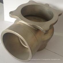 Valve de contrôle de coulée de précision en acier inoxydable Silicasol (usinage)