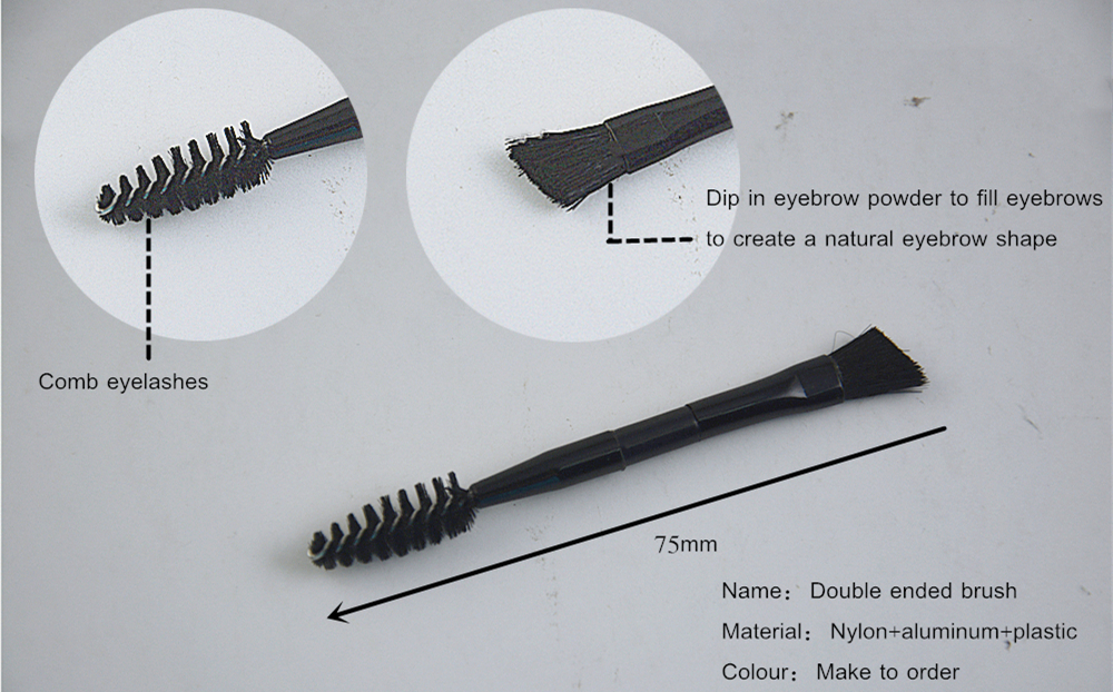 Double Ended Eyeshadow Brush