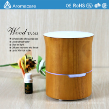 Aromatherapy natural wood oil diffuser ultrasonic anion humidifier