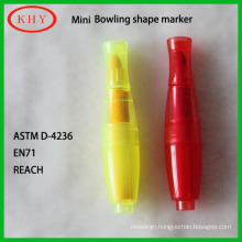 Mini Bowling Shape Chalk Marker