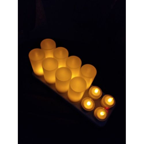 Il 4/6/12 mette a buon mercato all'ingrosso candela a led tealight ricaricabile