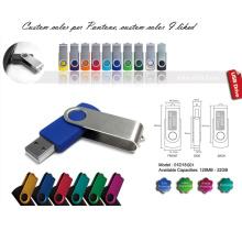 Disco de destello del USB con la cubierta de aluminio (01D18001)