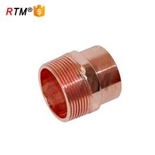 B encaixes de cobre do adaptador masculino encaixes rosqueados de cobre encaixes de tubulação de cobre de 10mm