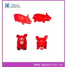 Wholsale Squeaker Latex Pig Pet Toy