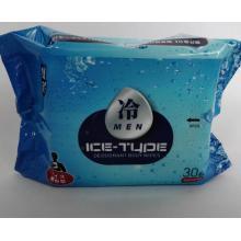 Portable Ice Cooling Adult alkoholfreie Deo-Körperpflegetücher