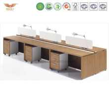 Modern Straight Open Office Workstation Cubicles Desk Office System Partition