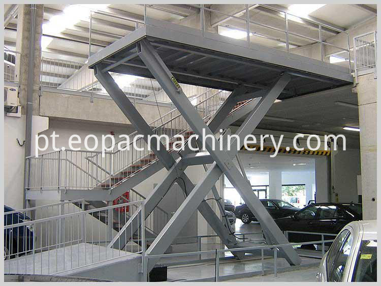 Car lift for Warehouse Lifting Platform